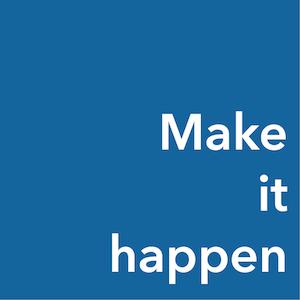 ターゲットは「Make it happen」